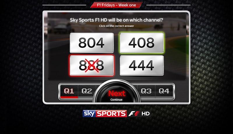 Sky F1 - Game 2